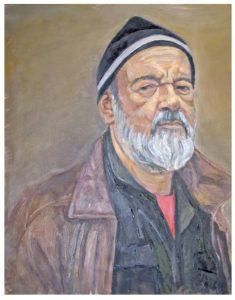 Richard Kostelanetz by Leonid Drozner